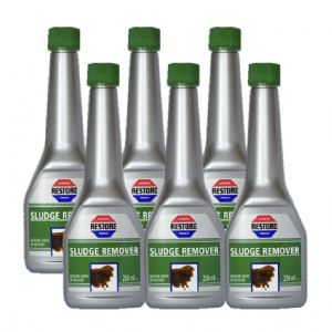 SIX BOTTLES Ametech RESTORE Sludge Remover (PETROL additive)